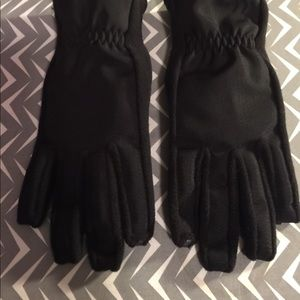 Xs/s touch screen isotoner black gloves